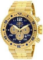Invicta Men's 25077 Pro Diver Quartz Chronograph , Gold Dial Watch