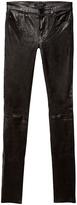 J Brand Leather Stack Skinny