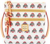 Dooney & Bourke Ohio State Buckeyes Triple-Zip Crossbody Bag