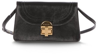 Marni Juliette Leather Cross-body Bag - Black