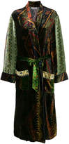 Pierre Louis Mascia Pierre-Louis Mascia embroidered fitted coat