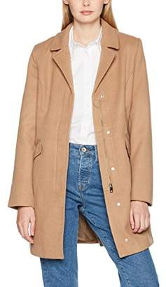 Vero Moda Women's Vmaugust 3/4 Jacket Jacket,40 (Manufacturer Size: )