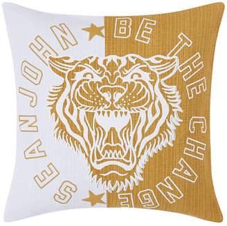 "Sean John Be the Change 18"" Square Decorative Pillow Bedding"