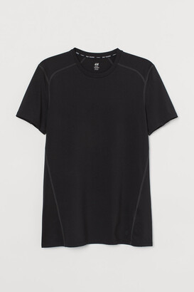 H&M Slim Fit Sports Shirt - Black
