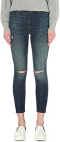 J Brand Alana cropped skinny high-rise jeans