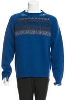 Dries Van Noten Wool Intarsia Sweater w/ Tags