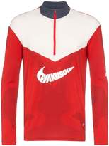 Nike X Gyakusou Red Zipped Sports Top