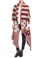 Collection XIIX Women's 'American Flag' Scarf