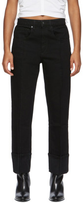 Alexander Wang Black Stovepipe Jeans