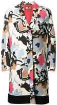 Etro floral print coat