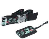 Lug Women's Luggage Tags FLAMINGO - Teal & Black Flamingo Baggage Strap & ID Tag