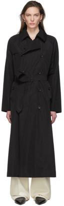 Julia Jentzsch Black Pearce Trench Coat