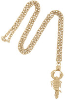 Valentino Scorpio Gold-tone Necklace