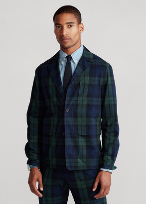 Ralph Lauren Tartan Seersucker Suit Jacket