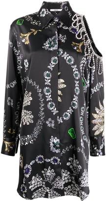 Area Jewellery Print Shirt Dress