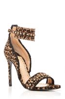 Louis Leeman Studded Leopard Sandal