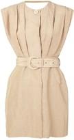 Leon Sir. tailored mini dress