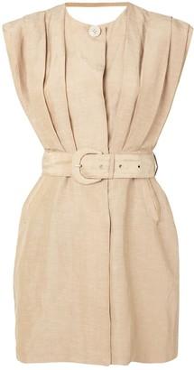 Leon tailored mini dress