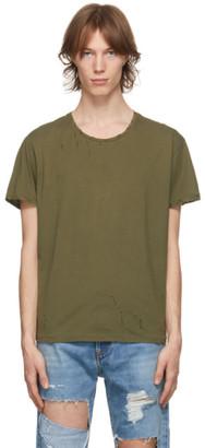 R 13 Khaki Destroyed Surplus T-Shirt