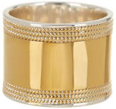 Anna Beck 18K Gold Plated Sterling Silver Wide Band Ring