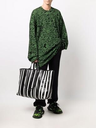 Balenciaga large Barbes East-West shopper tote bag