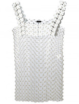 Paco Rabanne ring applique dress