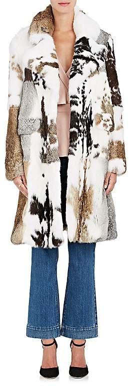 Co Women's Rabbit Fur Coat