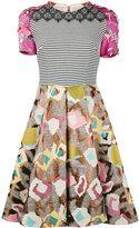 Talbot Runhof Monifa dress - women - Cotton/Polyamide/Polyester/Viscose - 32