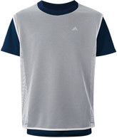 adidas contrast-detail T-shirt - men - Polyester - XS