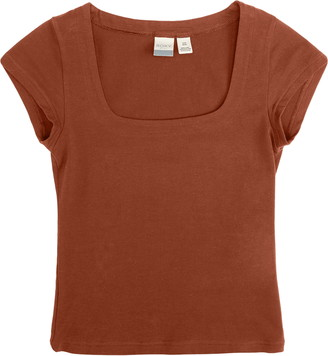 Roxy Artsy Square Neck T-Shirt
