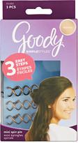 Goody Simple Styles Spin Pin Mini Dark