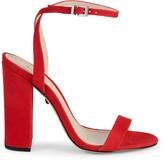 Schutz Ayda Suede Heeled Sandals