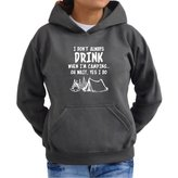Eddany I don't always drink when I'm camping oh wait yes I do Women Hoodie
