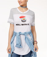 Freeze 24-7 Freeze Juniors' Roll With It Graphic T-Shirt