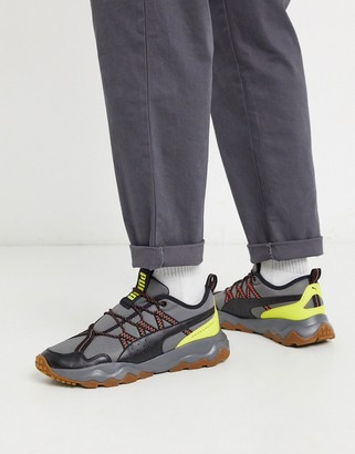 Puma Ember Trail sneakers in gray