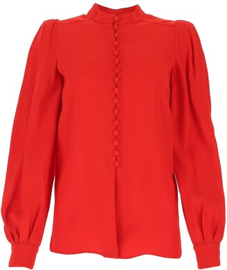 Givenchy Round Neck Blouse