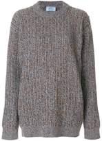 Prada oversized chunky knit sweater