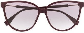 Fendi Eyewear Cat-Eye Frame Sunglasses