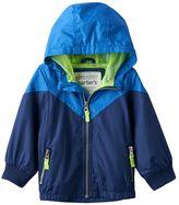 Carter's Toddler Boy Colorblock Hooded Lightweight Jacket