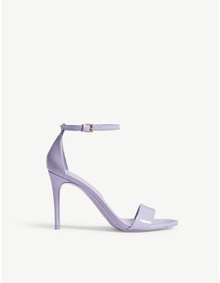 Aldo Cally patent sandals