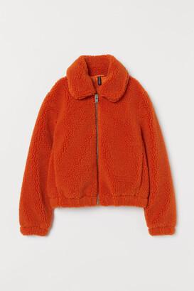H&M Fleece Jacket - Orange