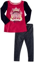 Juicy Couture Knit Tunic Set (Toddler/Kid) - Sweet Raspberry-2T
