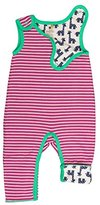 loud + proud Unisex baby 541 Striped Footies,9 - 12 Months
