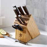 Crate & Barrel Shun ® Premier 9-Piece Knife Block Set