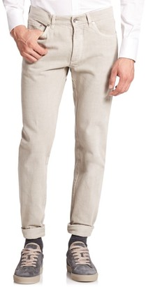 Brunello Cucinelli Five-Pocket Skinny Jeans