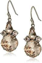 Sorrelli Satin Blush Elementary Elegance Drop Earrings