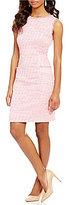 Adrianna Papell Onassis Tweed Shift Dress