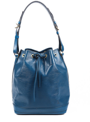 Louis Vuitton Blue Epi Leather Petit Noe