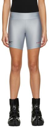 Misbhv Grey Reebok Edition Bike Shorts