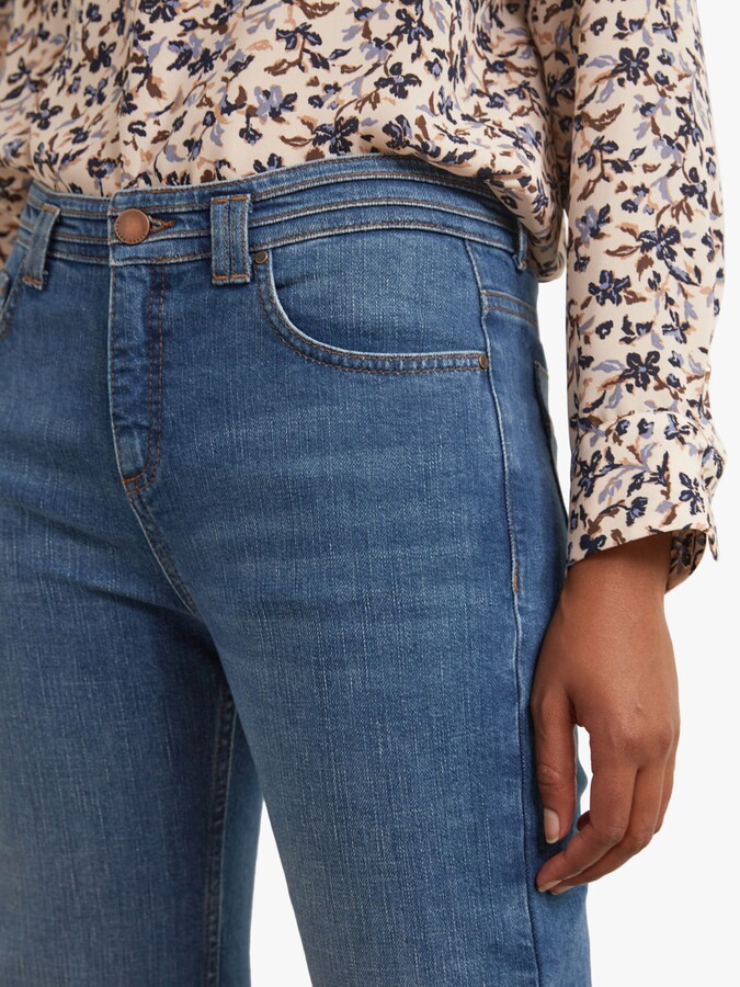Thumbnail for your product : Gerard Darel Laura Flare Stretch Jeans, Blue